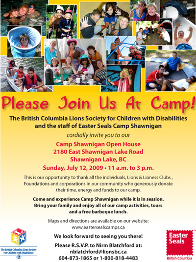 BCES camp open house