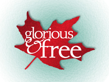 glorious and free logo