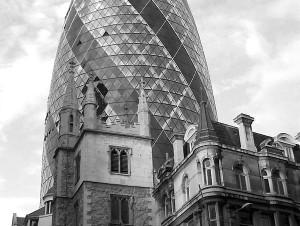 london egg black and white