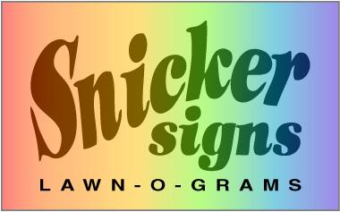 snicker signs logo
