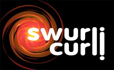 swurlicurli logo for my alternate projects